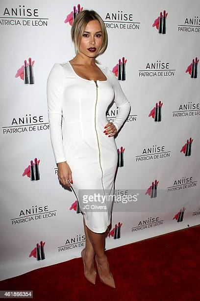 Actress Zulay Henao attends The Launch Party for 'Aniise by Patricia De Leon' at Nobu on January 20 2015 in Los Angeles California