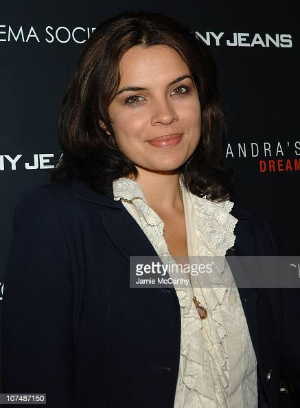 Actress Zuleikha Robinson attends 'Cassandra's Dream' screening at the Tribeca Grand Screening Room on December 18 2007 in New York City