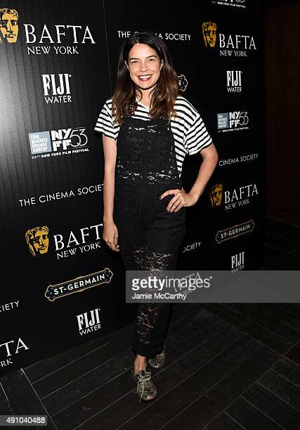 Actress Zuleikha Robinson attends the BAFTA New York The Cinema Society With FIJI Water StGermain party for the New York Film Festival at PHD Terrace...