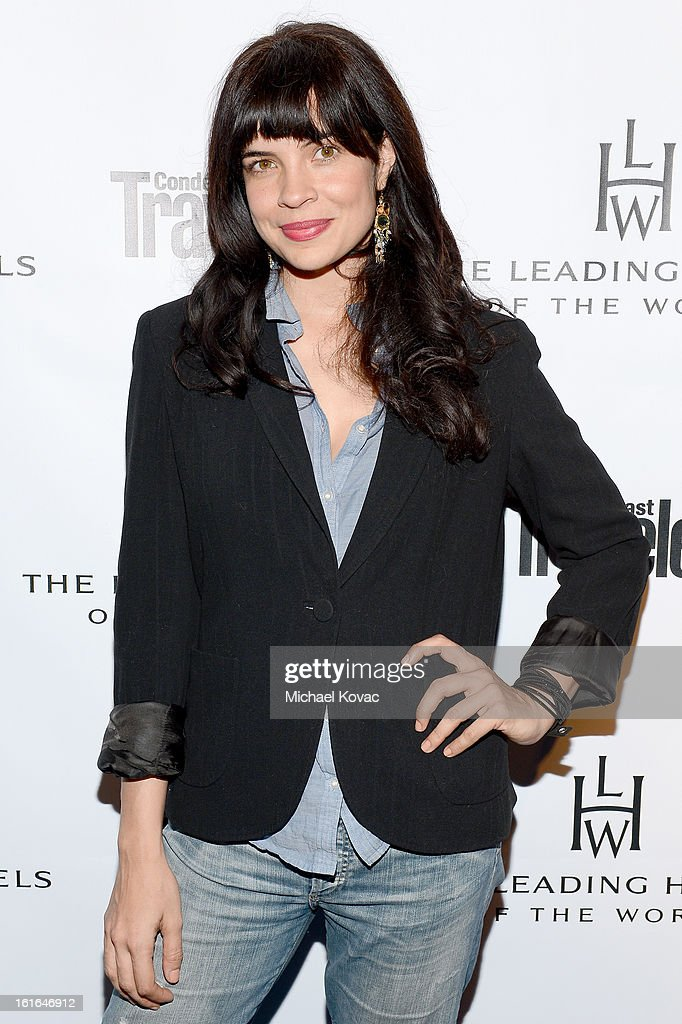 Actress Zuleikha Robinson joins Conde Nast Traveler as they celebrate The Leading Hotels Of The World 85th Anniversary at Mr. C Beverly Hills on February 13, 2013 in Beverly Hills, California.