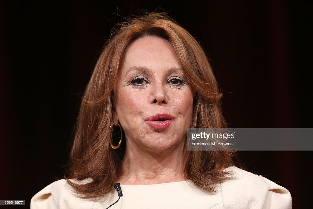 Actress/Activist Marlo Thomas of the television show Makers: Women Who Make America' speaks onstage during the PBS Portion- Day 2 of the 2013 Winter Television Critics Association Press Tour at Langham Hotel on January 15, 2013 in Pasadena, California.