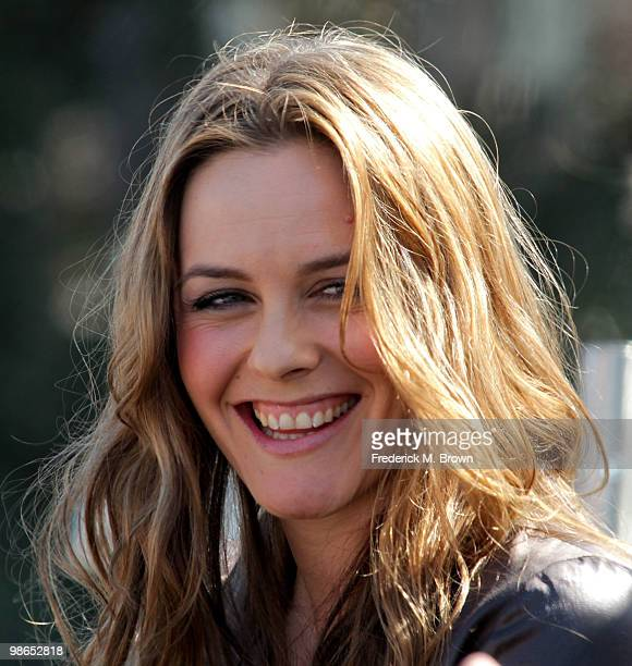 Actress/author Alicia Silverstone speaks during the 15th annual Los Angeles Times Festival of Books at UCLA on April 24 2010 in Los Angeles California