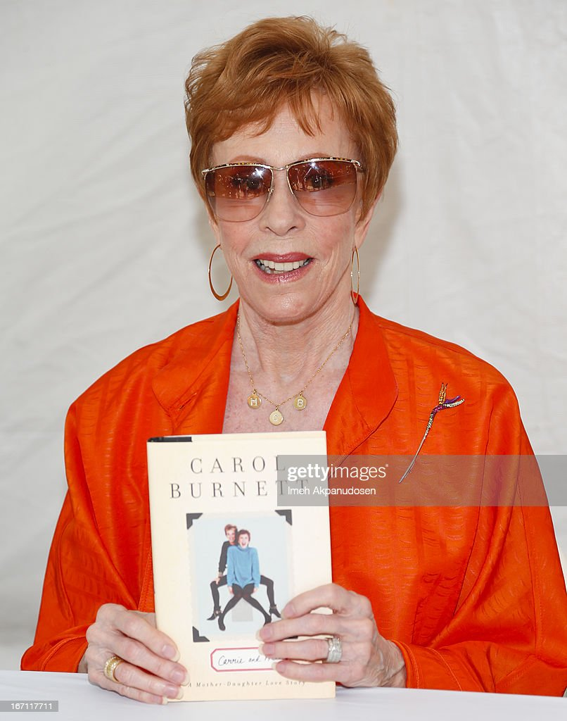 Actress/author <a gi-track='captionPersonalityLinkClicked' href=/galleries/search?phrase=Carol+Burnett&family=editorial&specificpeople=206201 ng-click='$event.stopPropagation()'>Carol Burnett</a> attends the 18th Annual LA Times Festival Of Books at USC on April 20, 2013 in Los Angeles, California.