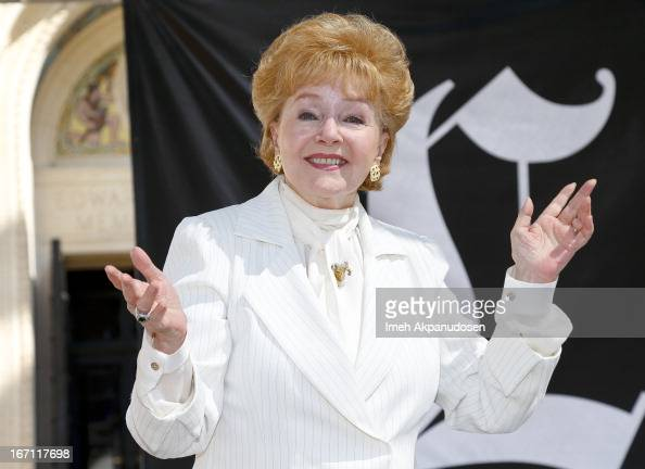 Actress/author Debbie Reynolds attends the 18th Annual LA Times Festival Of Books at USC on April 20 2013 in Los Angeles California