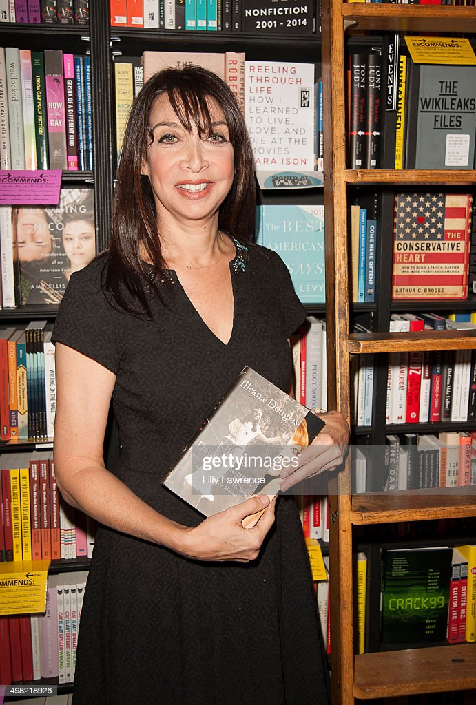 Actress/Author Illeana Douglas attends her memoir 'I Blame Dennis Hopper And Other Stories From a Life Lived In and Out of the Movies' signing at...