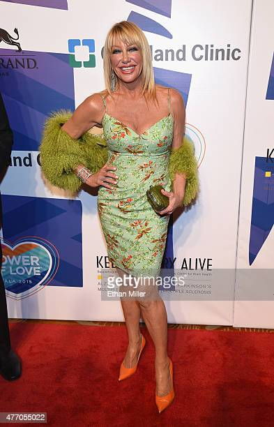 Actress/author Suzanne Somers attends the 19th annual Keep Memory Alive 'Power of Love Gala' benefit for the Cleveland Clinic Lou Ruvo Center for...