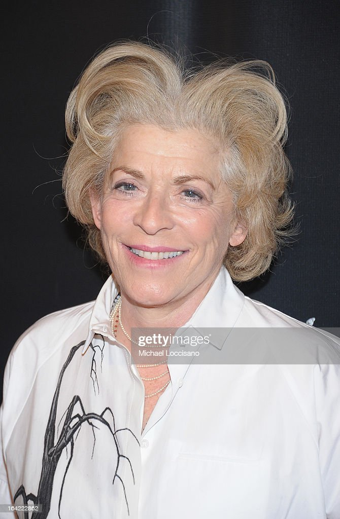 Actress/cast member Suzanne Bertish attends the 'Breakfast At Tiffany's' Broadway Opening Night after party at The Edison Ballroom on March 20, 2013 in New York City.