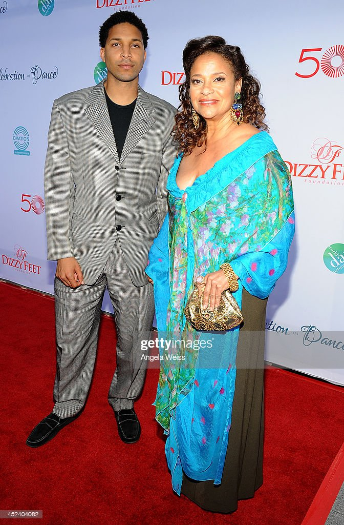 Actress/Choreographer <a gi-track='captionPersonalityLinkClicked' href=/galleries/search?phrase=Debbie+Allen&family=editorial&specificpeople=210660 ng-click='$event.stopPropagation()'>Debbie Allen</a> (R) and Norman Nixon Jr. attend Dizzy Feet Foundation's Celebration Of Dance Gala at The Music Center on July 19, 2014 in Los Angeles, California.
