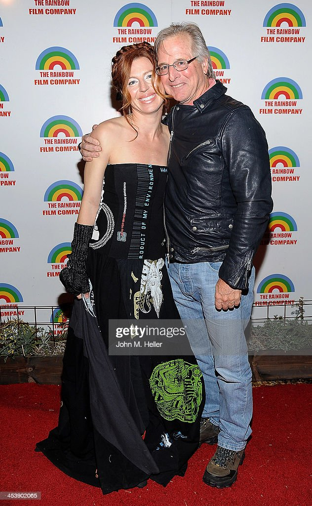 Actress/co-founder PSOS <a gi-track='captionPersonalityLinkClicked' href=/galleries/search?phrase=Tanna+Frederick&family=editorial&specificpeople=3991940 ng-click='$event.stopPropagation()'>Tanna Frederick</a> and actor John Filbin attend the Project Save Our Surf Holiday Celebration and Fundraiser at the Brakeman Brewery on December 5, 2013 in Los Angeles, California.