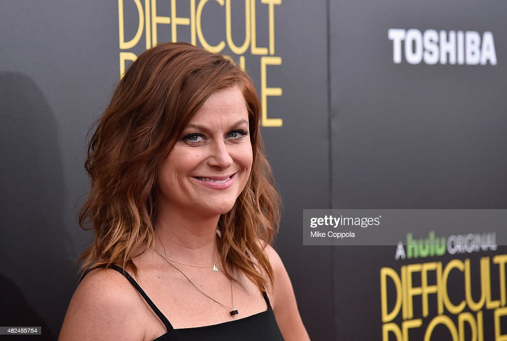 Actress/comedian <a gi-track='captionPersonalityLinkClicked' href=/galleries/search?phrase=Amy+Poehler&family=editorial&specificpeople=228430 ng-click='$event.stopPropagation()'>Amy Poehler</a> attends Hulu Original 'Difficult People' Premiere on July 30, 2015 in New York City.