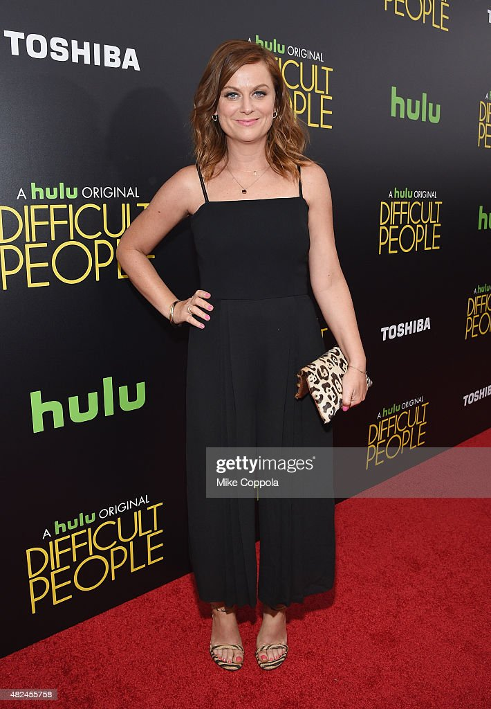 Actress/comedian Amy Poehler attends Hulu Original 'Difficult People' Premiere on July 30 2015 in New York City