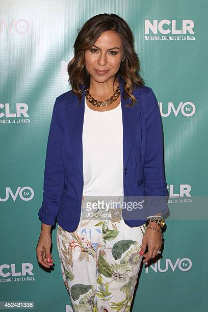 Actress/comedian Anjelah Johnson attends NCLR Exclusive Night Of Comedy at Los Angeles Convention Center on July 19 2014 in Los Angeles California