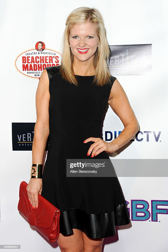 Actress/comedian <a gi-track='captionPersonalityLinkClicked' href=/galleries/search?phrase=Arden+Myrin&family=editorial&specificpeople=2194682 ng-click='$event.stopPropagation()'>Arden Myrin</a> arrives at the Los Angeles premiere of 'G.B.F.' at Chinese 6 Theater in Hollywood on November 19, 2013 in Hollywood, California.