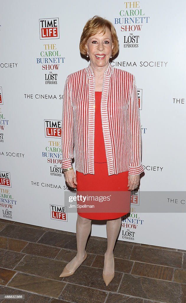 Actress/comedian Carol Burnett attends 'The Carol Burnett Show: The Lost Episodes' screening hosted by Time Life and The Cinema Society at Tribeca Grand Hotel on September 17, 2015 in New York City.