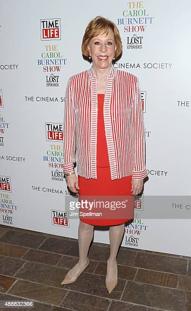 Actress/comedian Carol Burnett attends 'The Carol Burnett Show The Lost Episodes' screening hosted by Time Life and The Cinema Society at Tribeca...