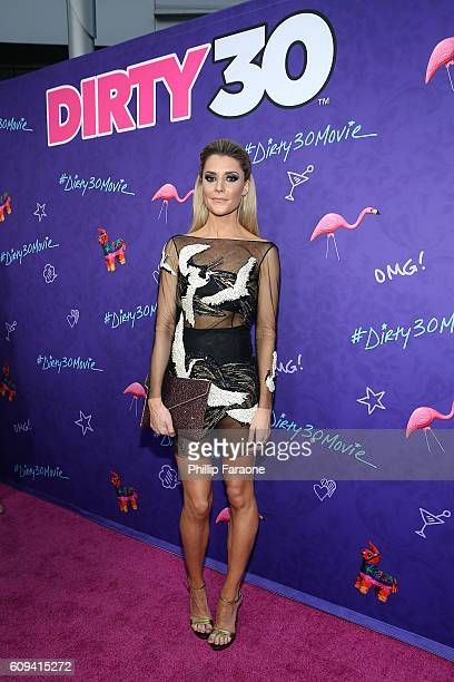 Actress/comedian Grace Helbig attends the premiere of Lionsgate's 'Dirty 30' at ArcLight Hollywood on September 20 2016 in Hollywood California