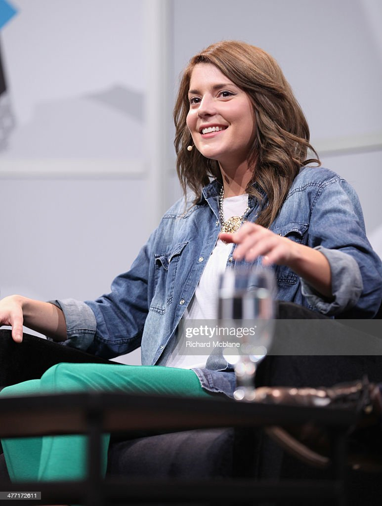 Actress/comedian Grace Helbig speaks onstage at 'Super Fandom in the Digital Age' during the 2014 SXSW Music, Film + Interactive Festival at Austin Convention Center on March 7, 2014 in Austin, Texas.