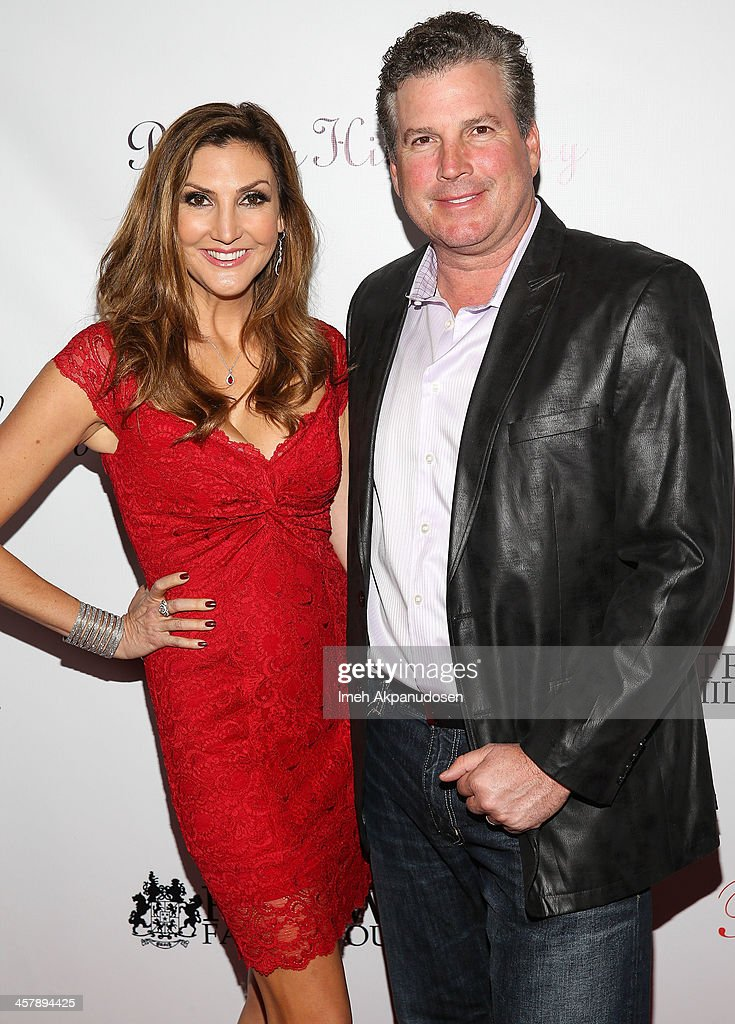 Actress/comedian Heather McDonald (L) and Peter Dobias attend The Maloof Foundation And Jacob's Peter W. Busch Family Foundation hosting a holiday toy donation For Children's Hospital on December 18, 2013 in Beverly Hills, California.