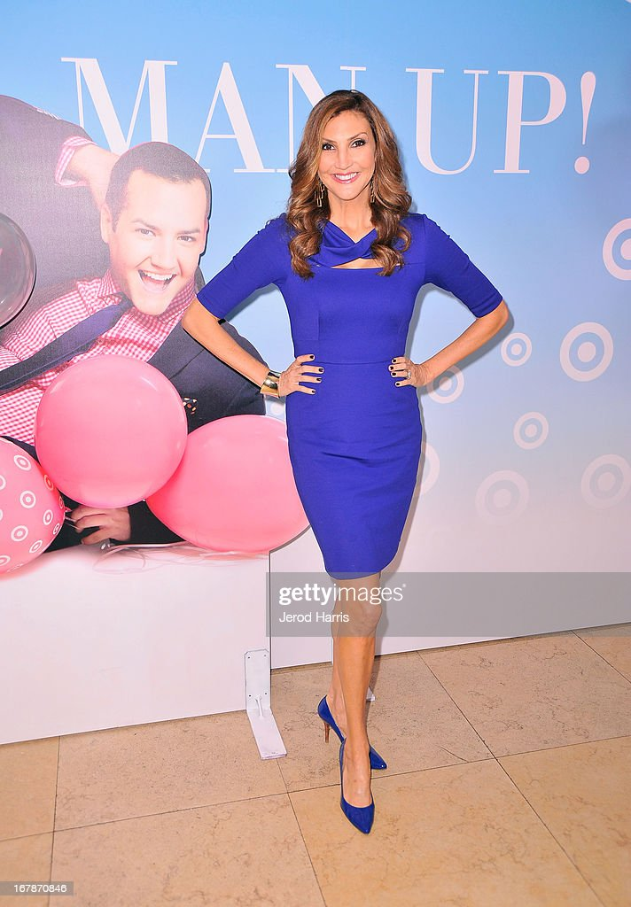 Actress/comedian <a gi-track='captionPersonalityLinkClicked' href=/galleries/search?phrase=Heather+McDonald&family=editorial&specificpeople=4756128 ng-click='$event.stopPropagation()'>Heather McDonald</a> at 'Roast and Toast with Ross Mathews' hosted by Target to celebrate the launch of Mathews' book 'Man Up!' at Sunset Tower on May 1, 2013 in West Hollywood, California.