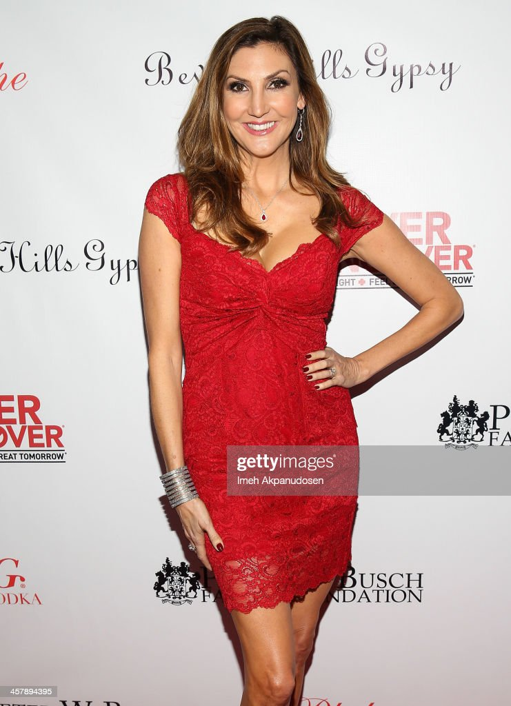 Actress/comedian <a gi-track='captionPersonalityLinkClicked' href=/galleries/search?phrase=Heather+McDonald&family=editorial&specificpeople=4756128 ng-click='$event.stopPropagation()'>Heather McDonald</a> attends The Maloof Foundation And Jacob's Peter W. Busch Family Foundation hosting a holiday toy donation For Children's Hospital on December 18, 2013 in Beverly Hills, California.