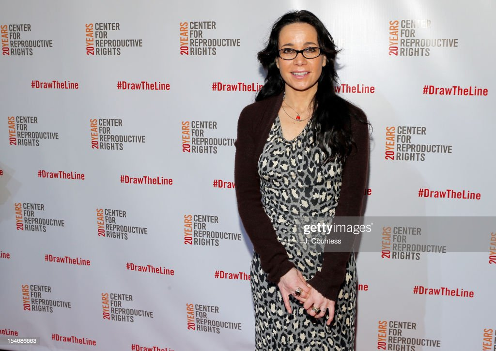 Actress/comedian Janeane Garofalo attends the Center For Reproductive Rights Inaugural Gala at Jazz at Lincoln Center on October 24, 2012 in New York City.