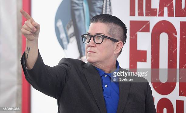Actress/comedian Lea DeLaria attends the 'Ricki And The Flash' New York premiere at AMC Lincoln Square Theater on August 3 2015 in New York City