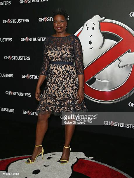 Actress/comedian Leslie Jones attends CinemaCon 2016 An Evening with Sony Pictures Entertainment Celebrating the Summer of 2016 and Beyond at The...