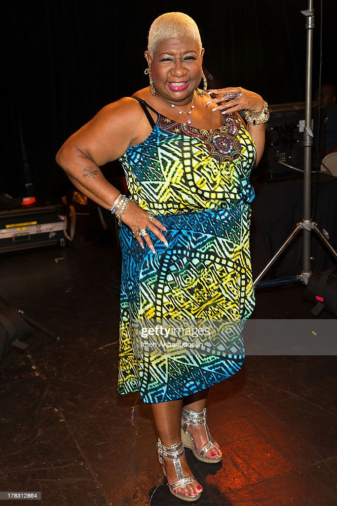 Actress/comedian <a gi-track='captionPersonalityLinkClicked' href=/galleries/search?phrase=Luenell&family=editorial&specificpeople=2159262 ng-click='$event.stopPropagation()'>Luenell</a> attends the live casting auditions for the new reality show 'Too Fat For Fame' at The Complex Hollywood on August 28, 2013 in Los Angeles, California.