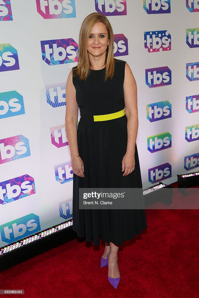 Actress/Comedian Samantha Bee attends TBS's A Night Out with Conan O'Brien Rashida Jones Samantha Bee Jason Jones held at The New Museum on May 17...