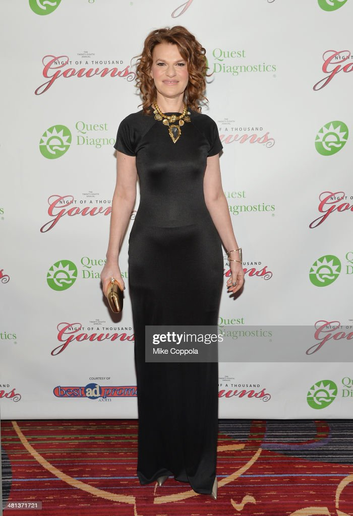 Actress/comedian <a gi-track='captionPersonalityLinkClicked' href=/galleries/search?phrase=Sandra+Bernhard&family=editorial&specificpeople=204693 ng-click='$event.stopPropagation()'>Sandra Bernhard</a> attends the 28th annual Night of a Thousand Gowns at the Marriott Marquis Times Square on March 29, 2014 in New York City.