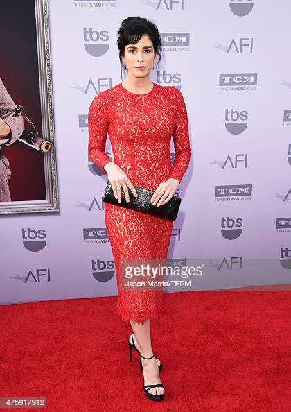 Actresscomedian Sarah Silverman attends the 2015 AFI Life Achievement Award Gala Tribute Honoring Steve Martin at the Dolby Theatre on June 4 2015 in...