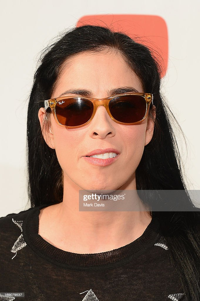 Actress/comedian Sarah Silverman attends 'The Big Live Comedy Show' presented by YouTube Comedy Week held at Culver Studios on May 19, 2013 in Culver City, California.
