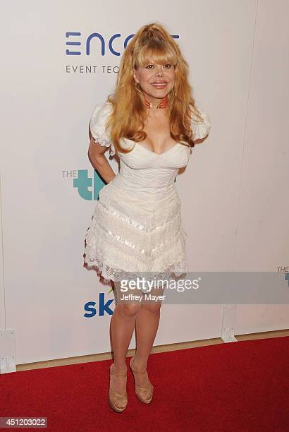 Actress/comedienne Charo attends the 5th Annual Thirst Gala hosted by Jennifer Garner in partnership with Skyo and Relativity's 'Earth To Echo' on...