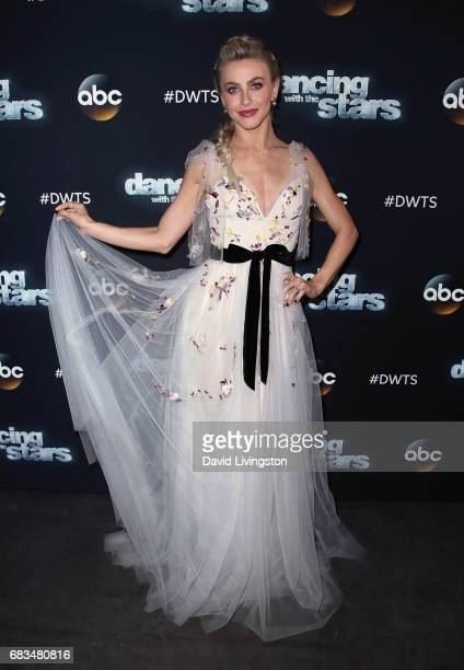 Actress/competition judge Julianne Hough attends 'Dancing with the Stars' Season 24 at CBS Televison City on May 15 2017 in Los Angeles California
