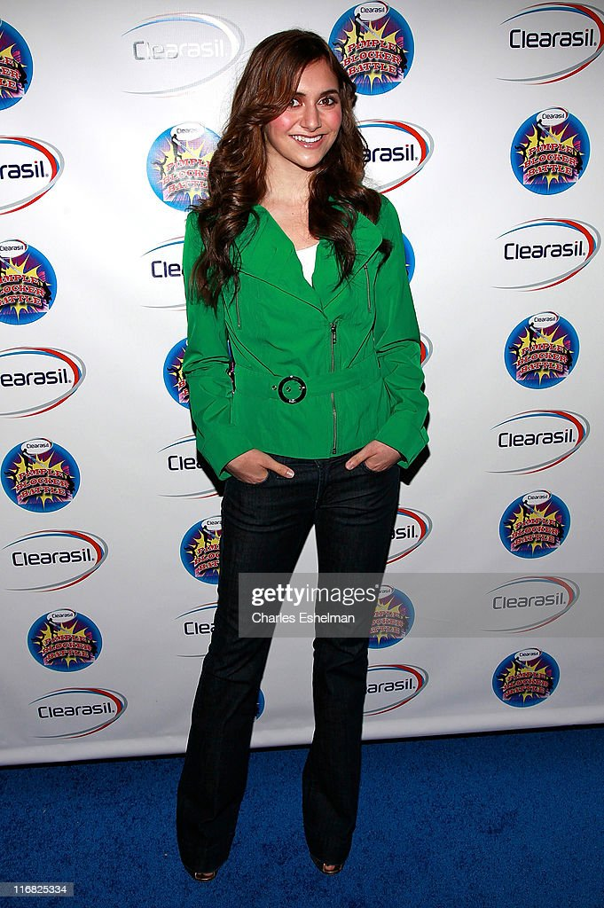 Actress/dancer Alyson Stoner attends Clearasil's Ultimate Dance Competition at the Hard Rock Cafe in Times Square on April 7 2009 in New York City
