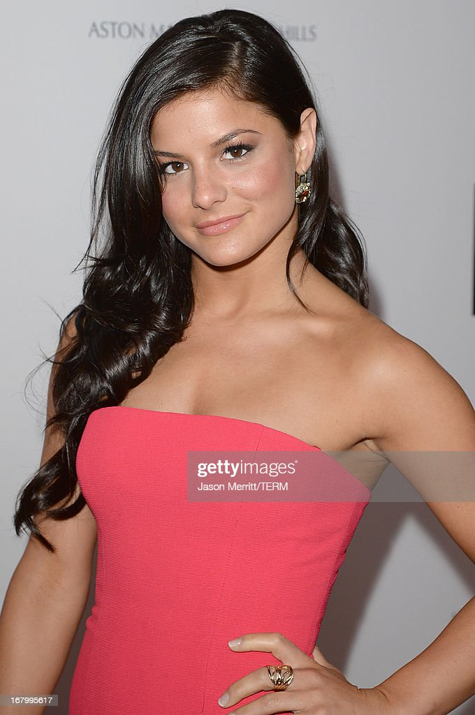 Actress/dancer Courtney Galiano attends the 20th Annual Race To Erase MS Gala 'Love To Erase MS' at the Hyatt Regency Century Plaza on May 3, 2013 in Century City, California.