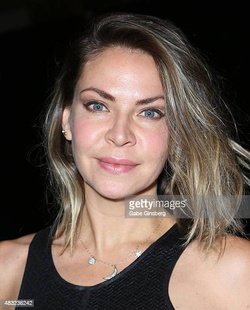 Actress/dancer Cyia Batten attends the 14th annual official Star Trek convention at the Rio Hotel Casino on August 6 2015 in Las Vegas Nevada