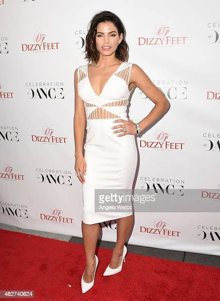 Actress/dancer Jenna DewanTatum attends the 5th Annual Celebration of Dance Gala presented By The Dizzy Feet Foundation at Club Nokia on August 1...