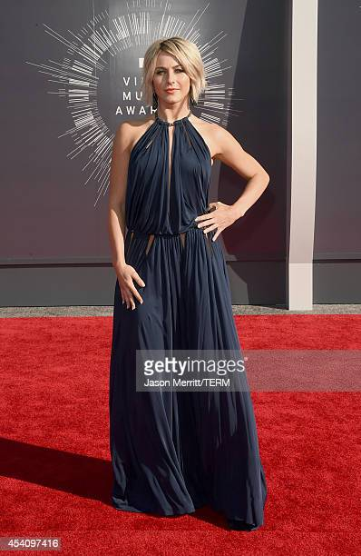 Actress/dancer Julianne Hough attends the 2014 MTV Video Music Awards at The Forum on August 24 2014 in Inglewood California