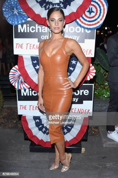 Actress/dancer Kylie Shea Lewallen attends the after party as awardwinning filmmaker Michael Moore celebrates his Broadway Opening Night in 'The...