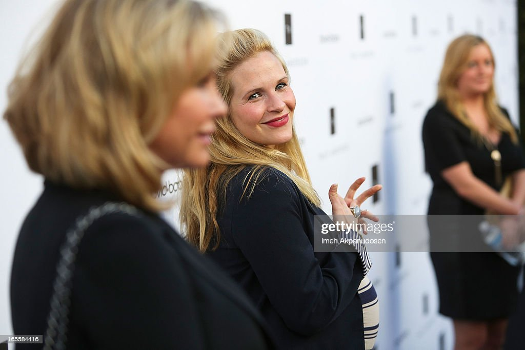 Actress/dancer Sally Pressman attends the opening of Tracy Anderson flagship studio at Tracy Anderson Flagship Studio on April 4, 2013 in Brentwood, California.