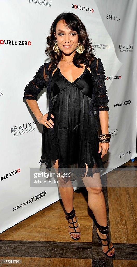 Actress/designer <a gi-track='captionPersonalityLinkClicked' href=/galleries/search?phrase=Mayte+Garcia&family=editorial&specificpeople=797179 ng-click='$event.stopPropagation()'>Mayte Garcia</a> attends the launch of Shanna Moakler and <a gi-track='captionPersonalityLinkClicked' href=/galleries/search?phrase=Mayte+Garcia&family=editorial&specificpeople=797179 ng-click='$event.stopPropagation()'>Mayte Garcia</a>'s new clothing line Fauxy Fauxture wearing Gucci Heels at Bootsy Bellows on March 8, 2014 in West Hollywood, California.