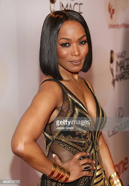 Actress/director Angela Bassett attends the 46th NAACP Image Awards presented by TV One at Pasadena Civic Auditorium on February 6 2015 in Pasadena...