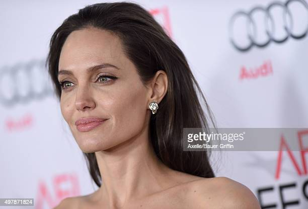 Actress/director Angelina Jolie arrives at the AFI FEST 2015 presented by Audi Opening Night Gala Premiere of Universal Pictures' 'By The Sea' at TCL...