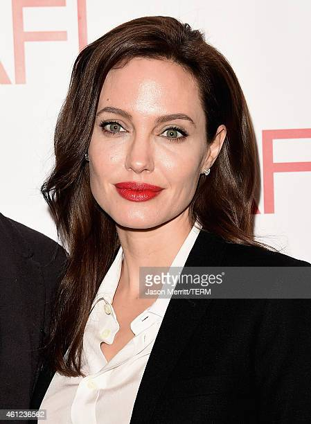 Actress/director Angelina Jolie attends the 15th Annual AFI Awards at Four Seasons Hotel Los Angeles at Beverly Hills on January 9 2015 in Beverly...