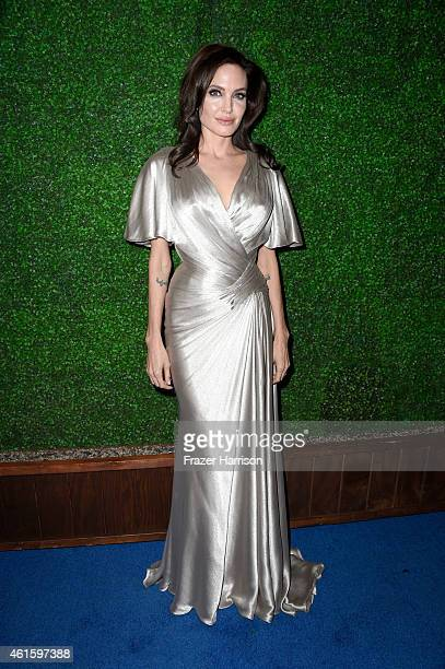 Actress/director Angelina Jolie attends the 20th annual Critics' Choice Movie Awards at the Hollywood Palladium on January 15 2015 in Los Angeles...