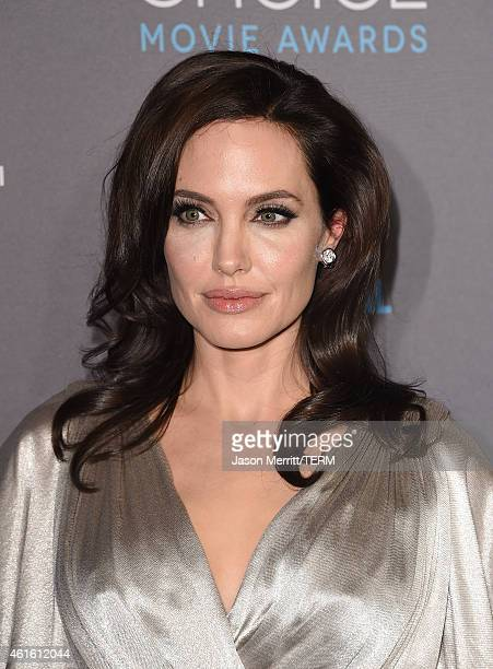 Actressdirector Angelina Jolie attends the 20th annual Critics' Choice Movie Awards at the Hollywood Palladium on January 15 2015 in Los Angeles...
