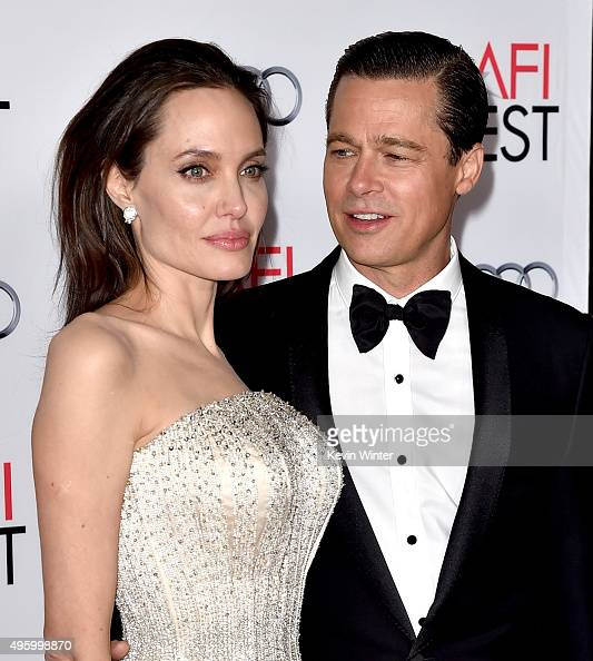 Image result for ANGELINA JOLIE AND BRAD PITT GETTY IMAGES