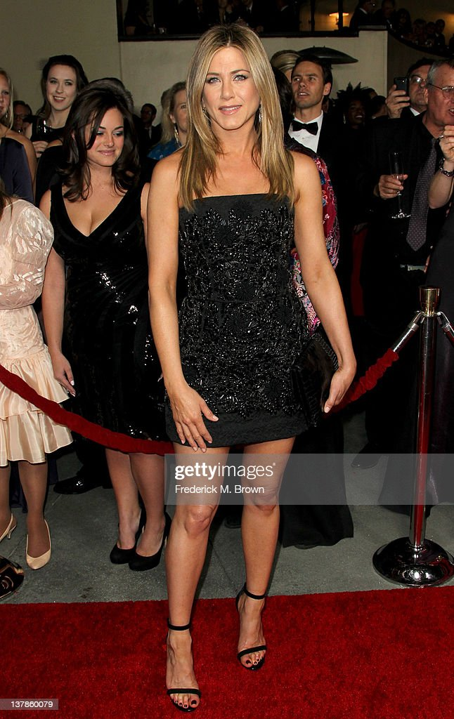 Actressdirector Jennifer Aniston arrives at the 64th Annual Directors Guild Of America Awards held at the Grand Ballroom at Hollywood Highland on...