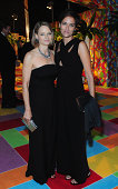 Actress/Director Jodie Foster and Alexandra Hedison attend HBO's Official 2014 Emmy After Party at The Plaza at the Pacific Design Center on August...